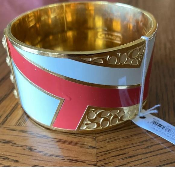 NWT Coach Bangle Bracelet